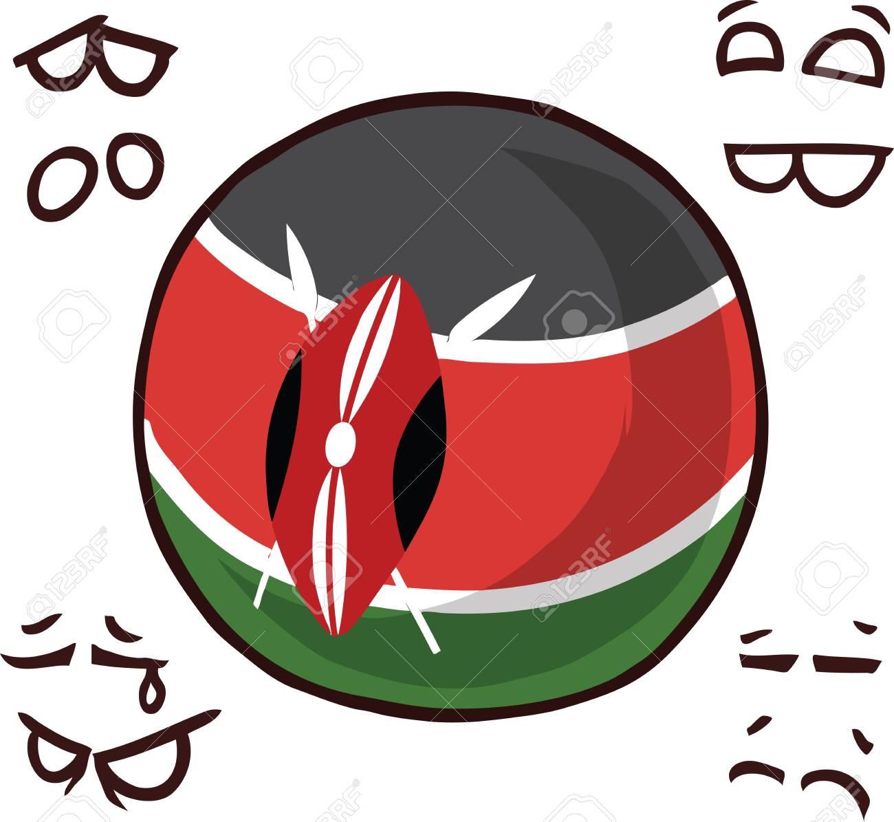 kenya country ball - 110723160