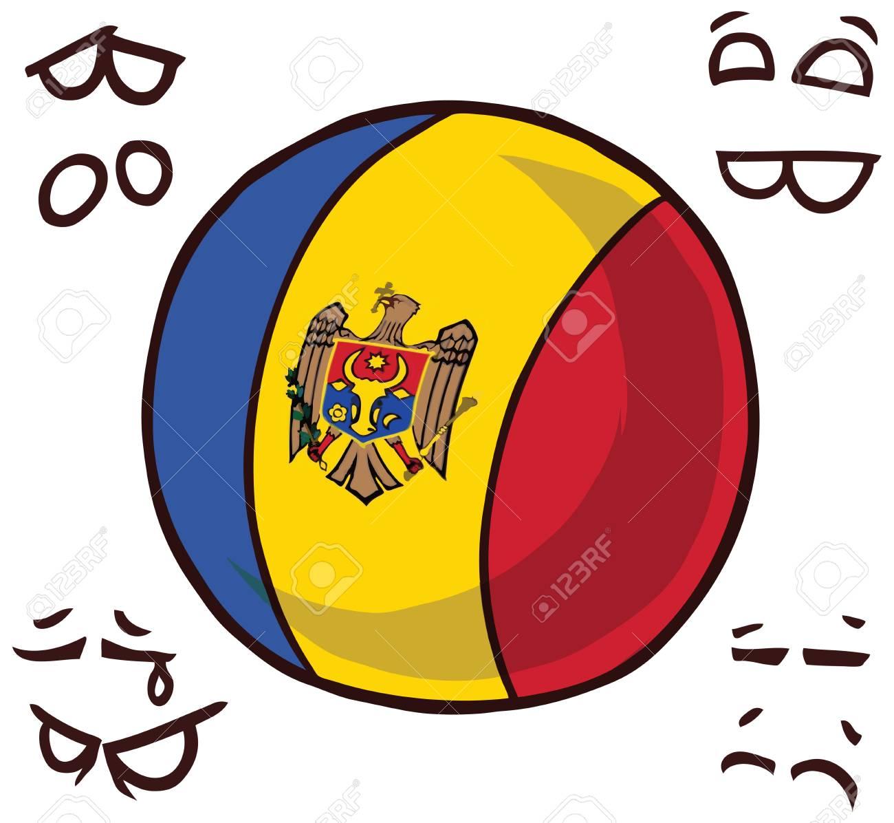 moldova country ball - 110723169