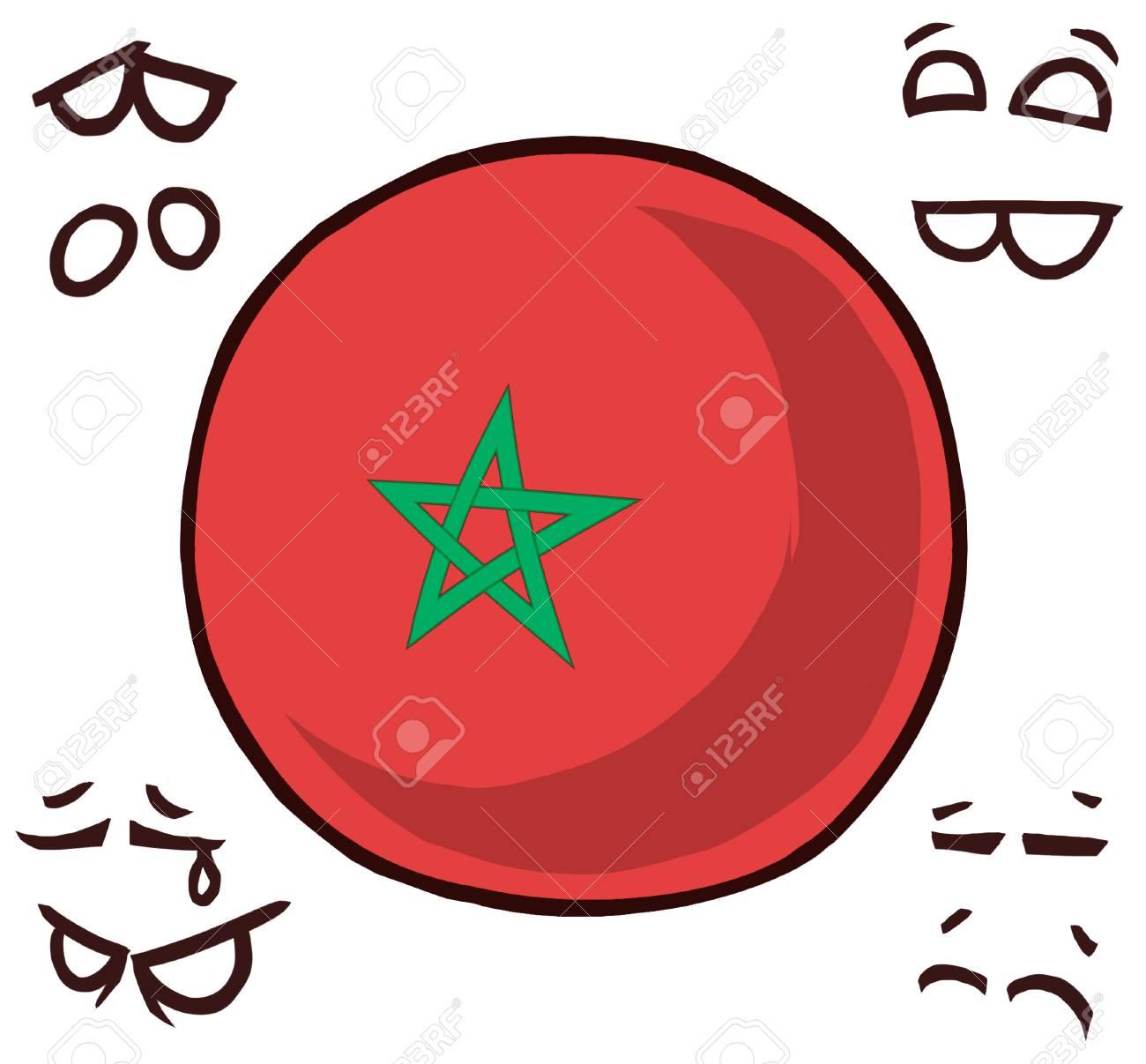 morocco country ball - 110727338