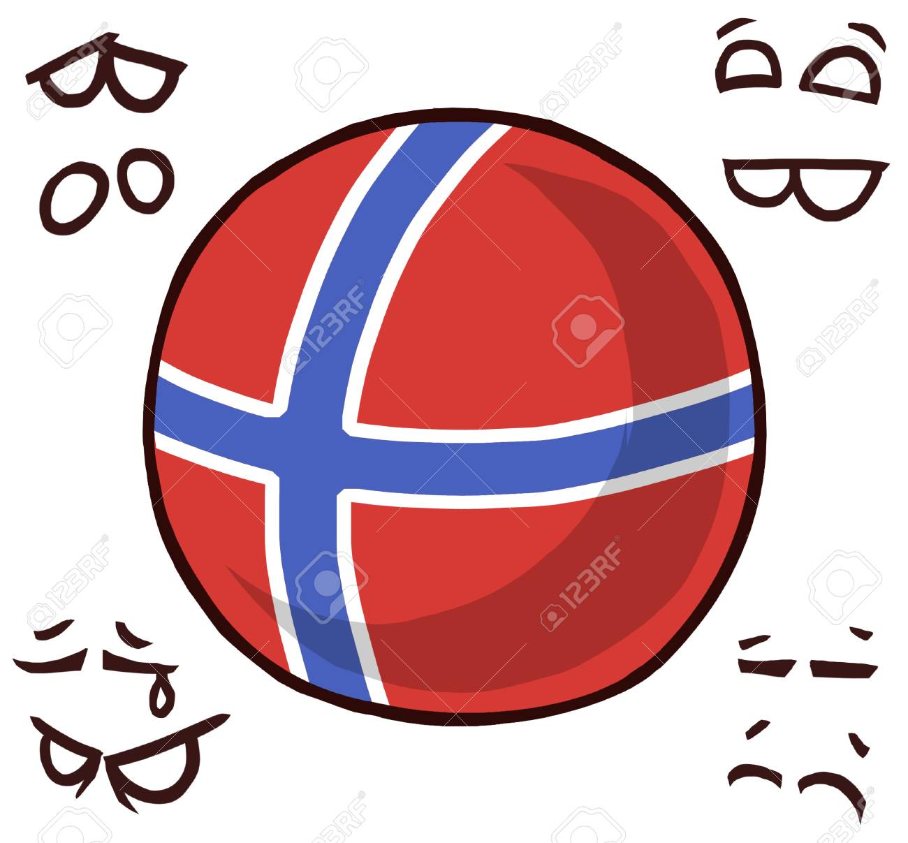 norway country ball - 110727340