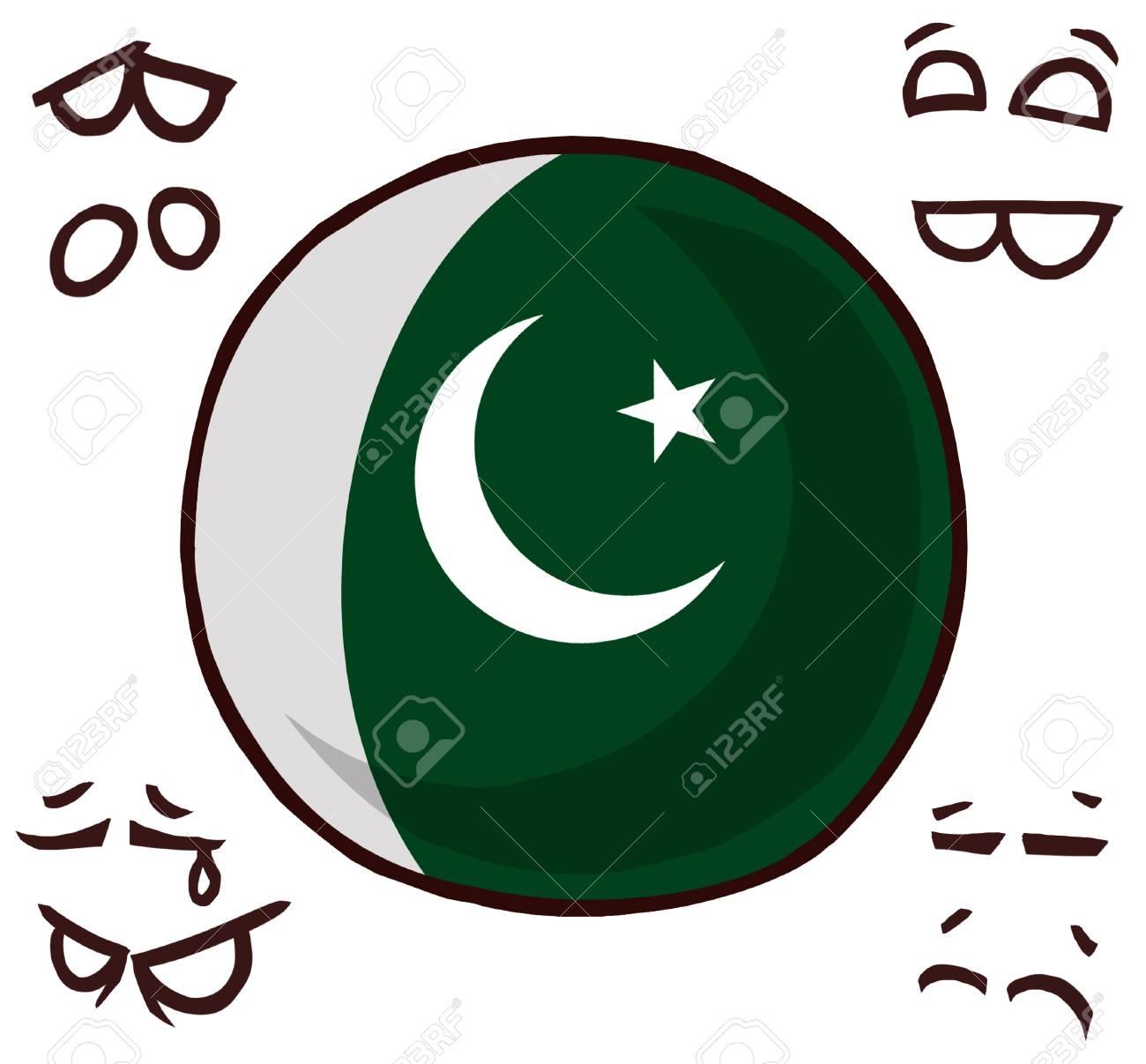 Pakistan country ball - 110727342