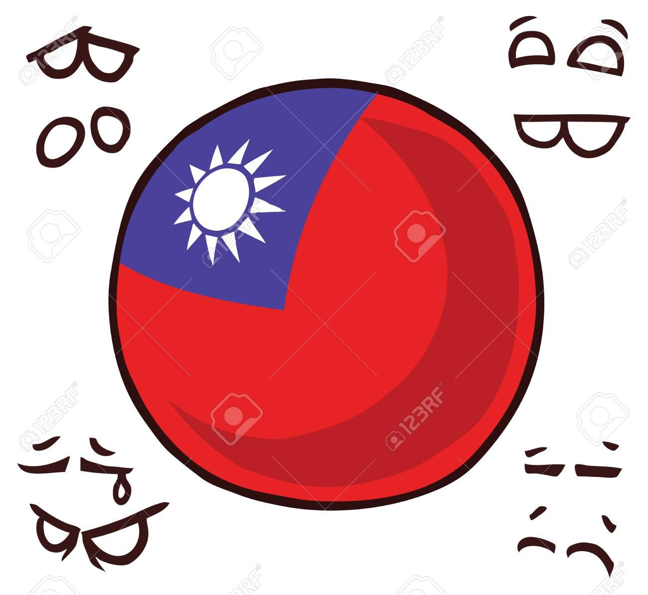 Taiwan country ball - 110847823