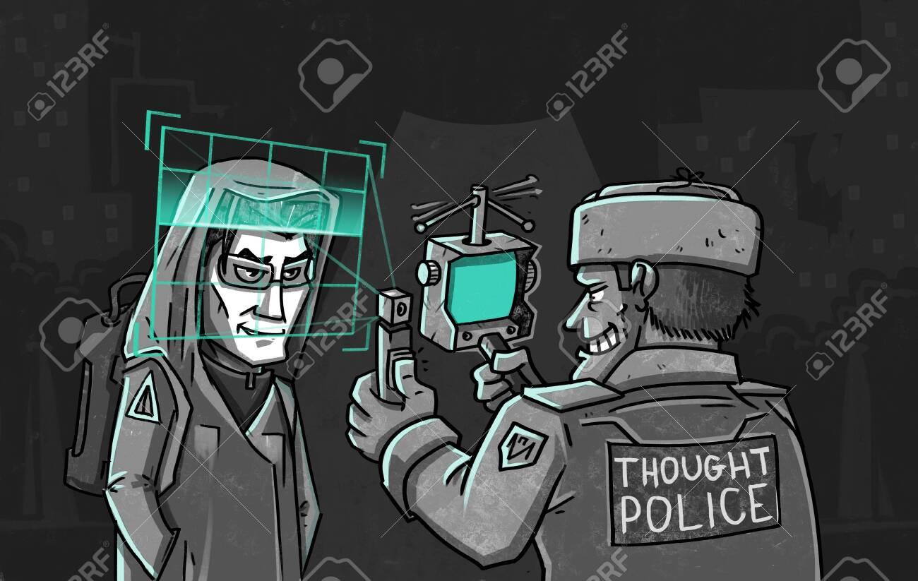 Illustration investigation concept. - 133621630
