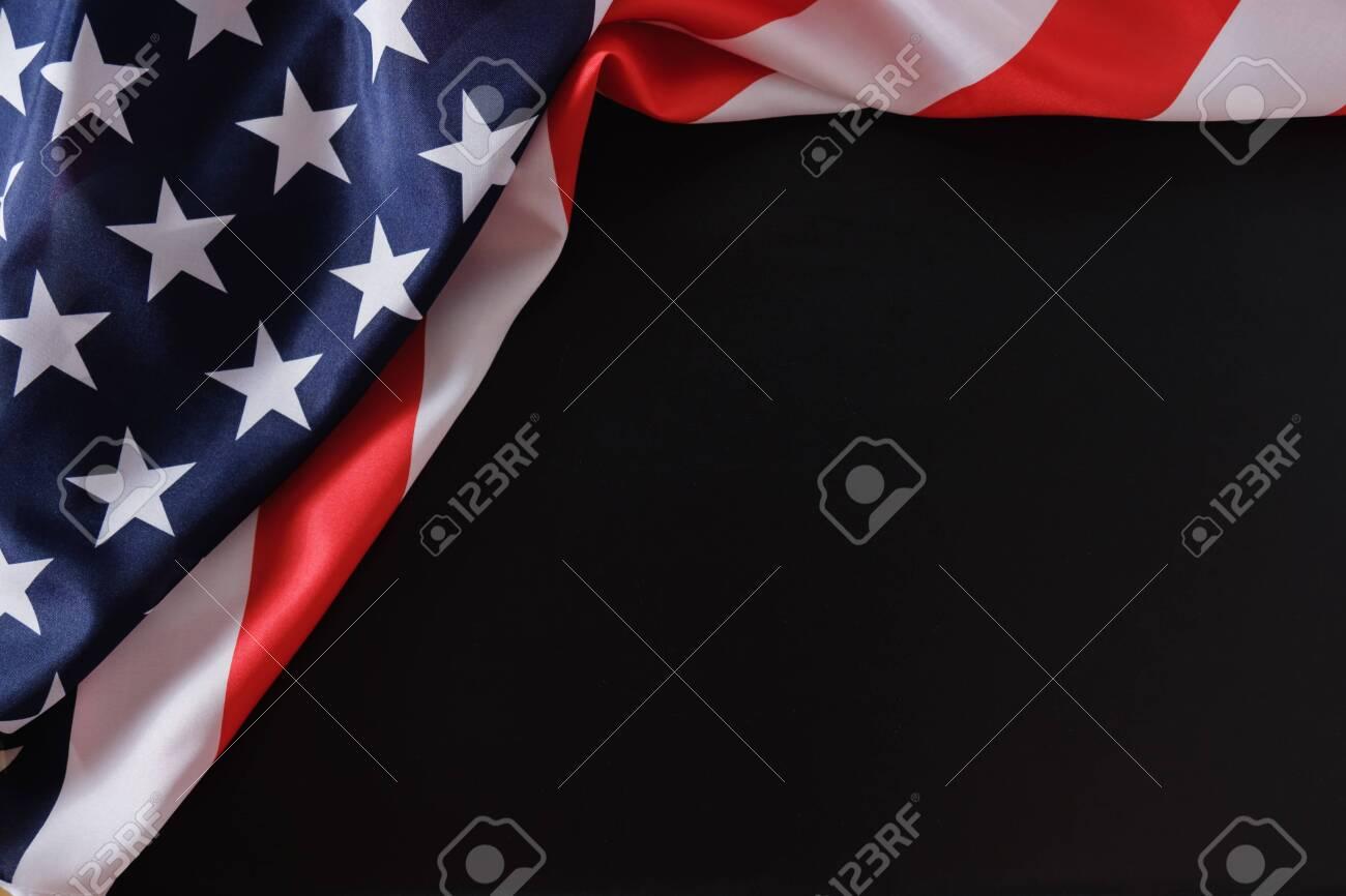 Flag american usa us patriot america background, memorial. - 123308366