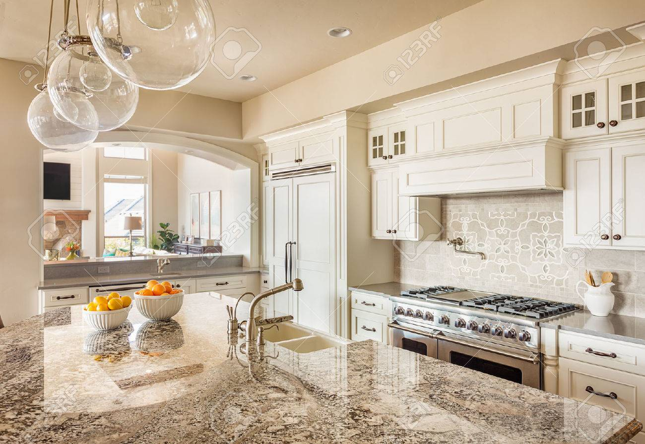 Kitchen With Hardwood Floor Kitchen With Island Sink Cabinets And Hardwood Floors And