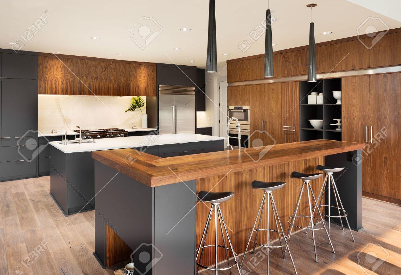 Moderno Isla Mueble De Cocina Ideas Ornamento Elaboración Festooning ...