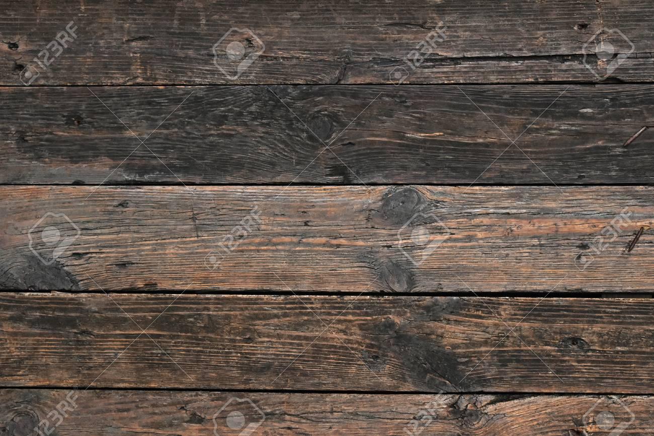 Immagini Stock Vecchio Comitato Scuro Annata Rustica Di Eta Compresa Tra Legno Antico Seppia Con Fughe Orizzontali Tavole E Fessure Image 48156109