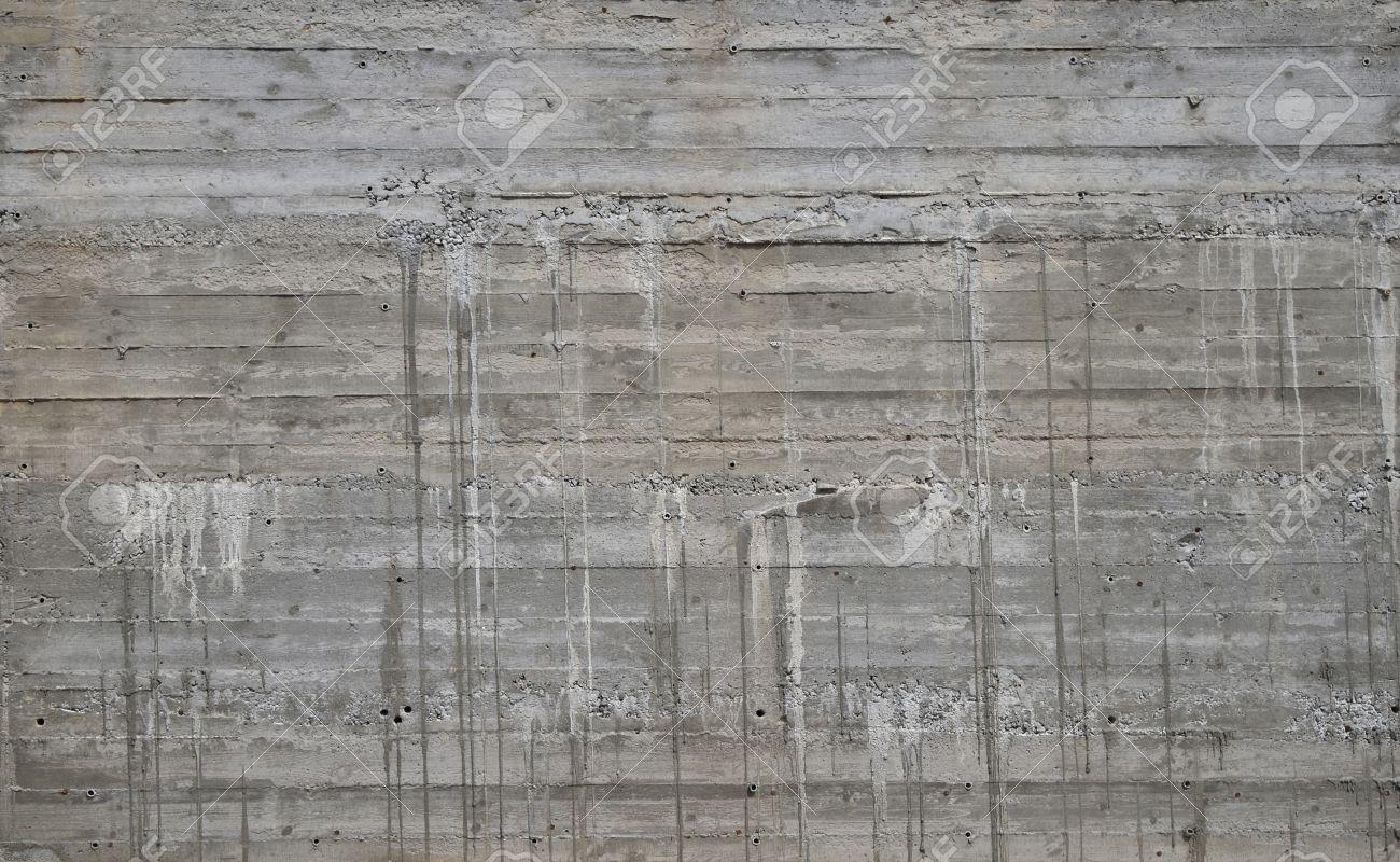 Textura De La Pared De Hormigón Con Patrón De Madera De Madera De ...