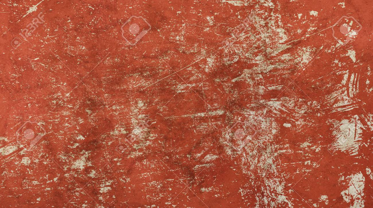Grunge old vintage dirty shabby distressed red texture background