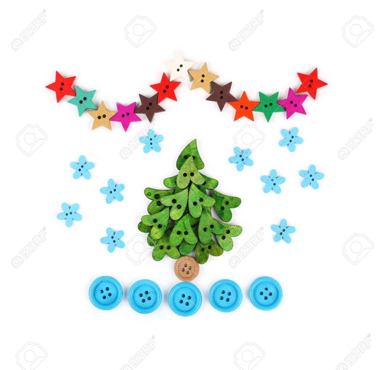 Close Up Christmas Tree Decoration Collage Of Colorful Multicolor Stock Photo Picture And Royalty Free Image Image 136145753