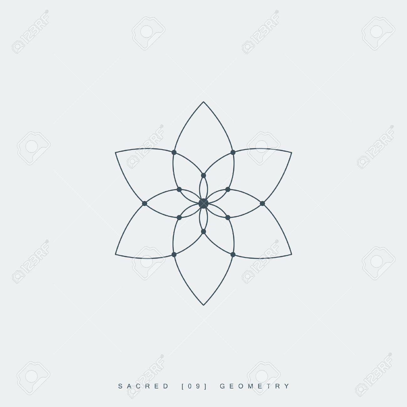 Flower Of Life Sacred Geometry Lotus Flower Mandala Ornament