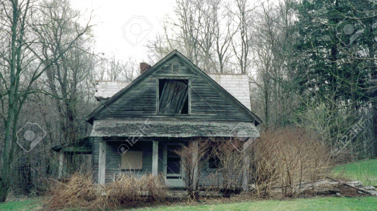 Old Run down House Stock Photo - 3926652