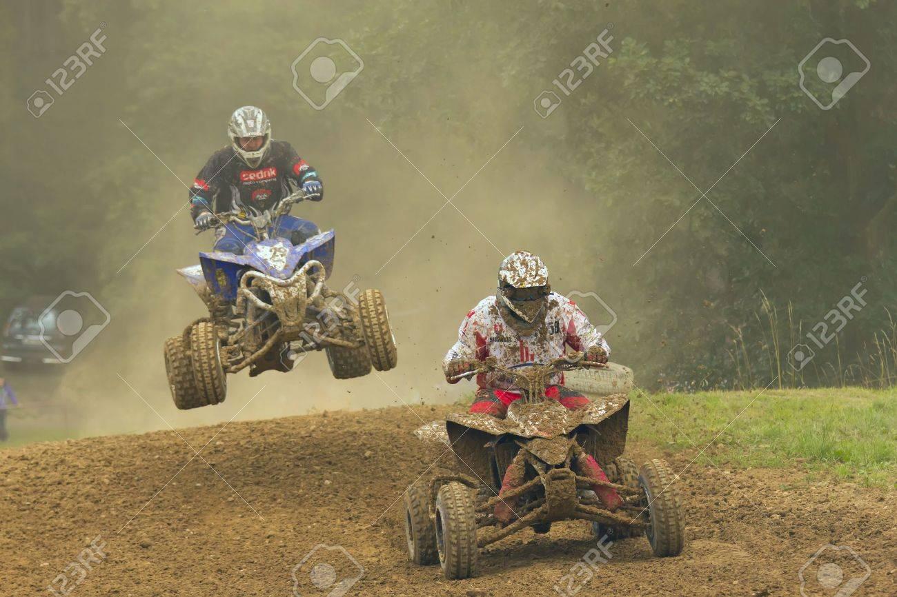 Two quad motorbike racers - 12849013