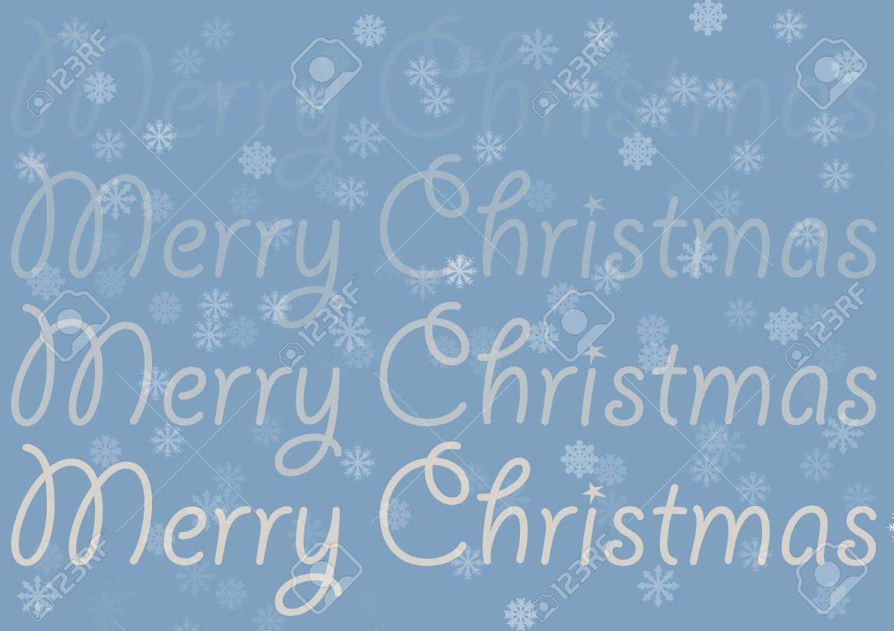 Immagini Stock Iscriviti Buon Natale Sullo Sfondo Blu Alla Moda