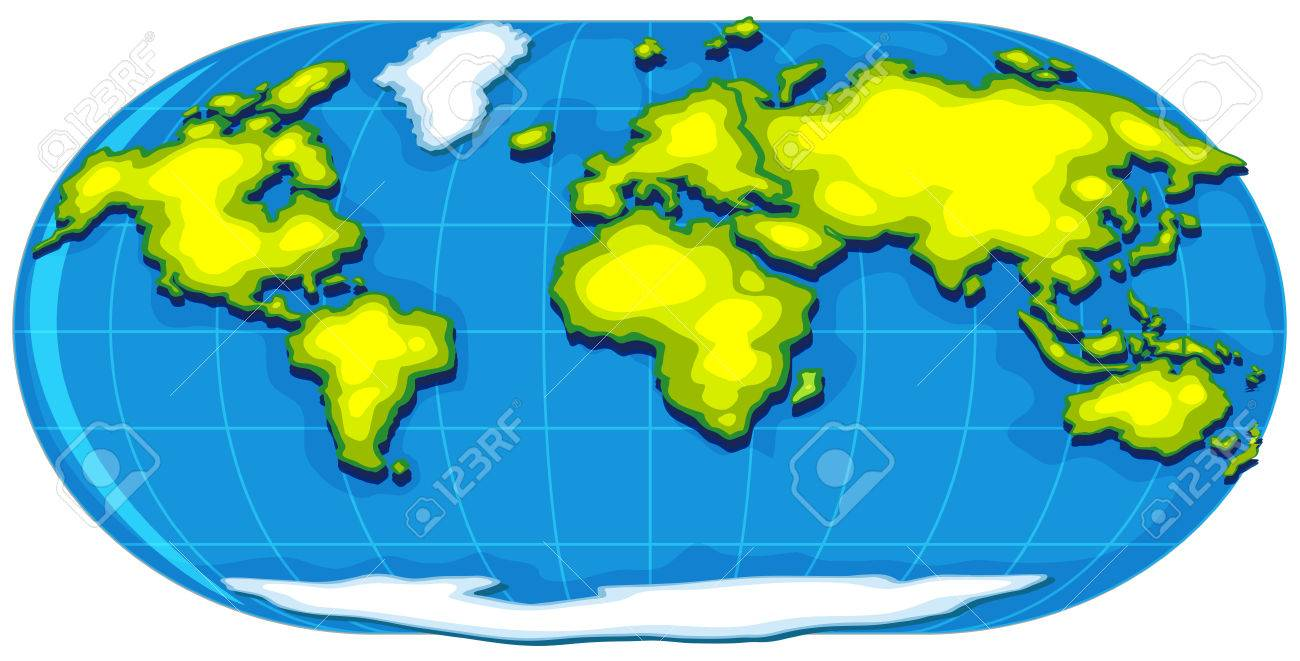 Geography poster with world map illustration royalty free cliparts geography poster with world map illustration stock vector 70917601 gumiabroncs Choice Image