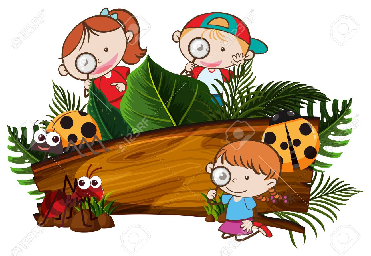 Image result for free kids in nature clipart