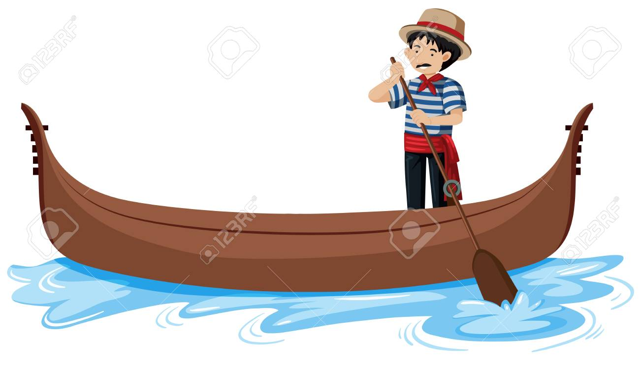 gondola in venice italy illustration royalty free cliparts, vectors, and  stock illustration. image 115003926.  123rf