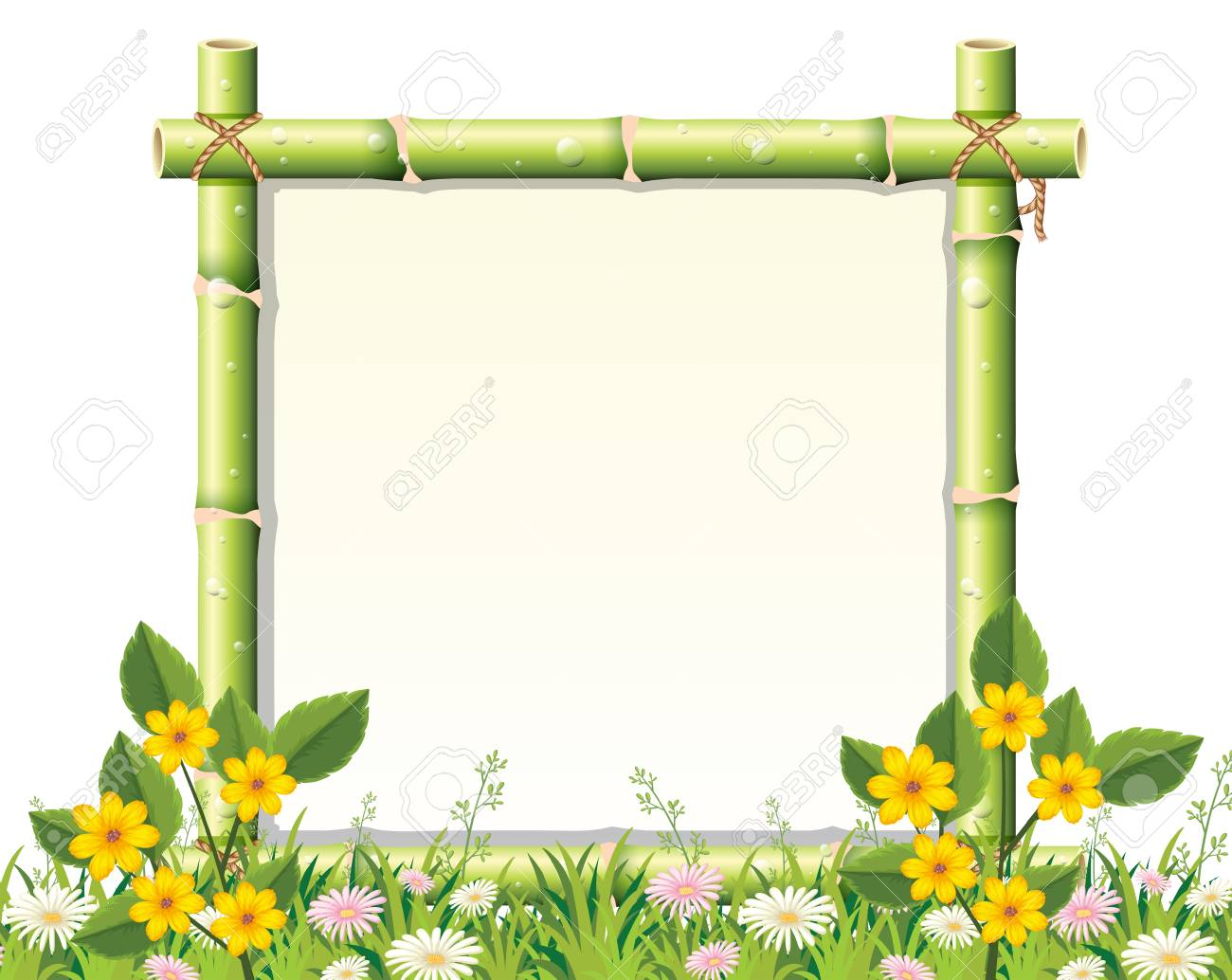 a beautiful nature frame illustration royalty free cliparts vectors and stock illustration image 111830378 a beautiful nature frame illustration