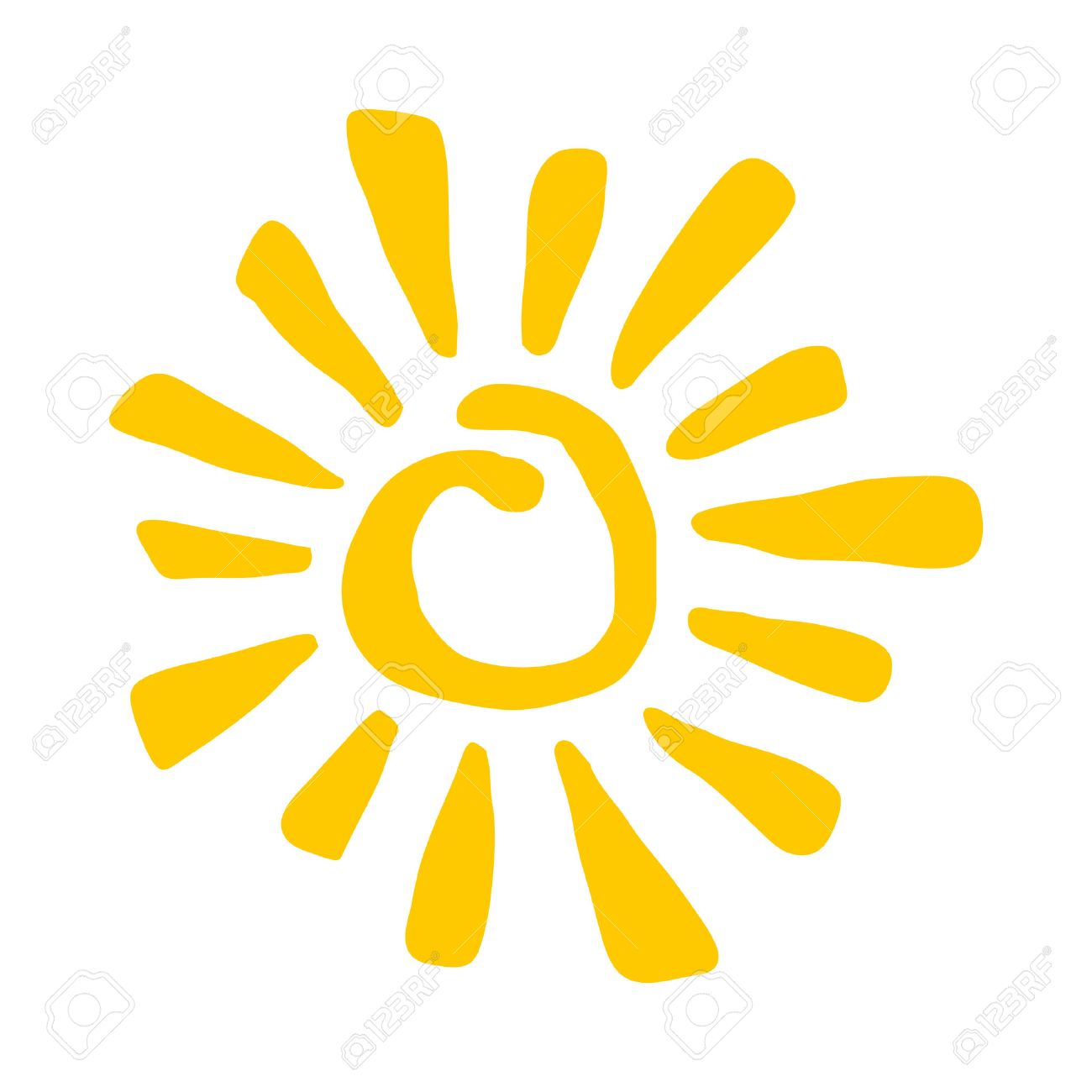 sun vector icon royalty free cliparts vectors and stock rh 123rf com vector sunflower images vector sunflower images