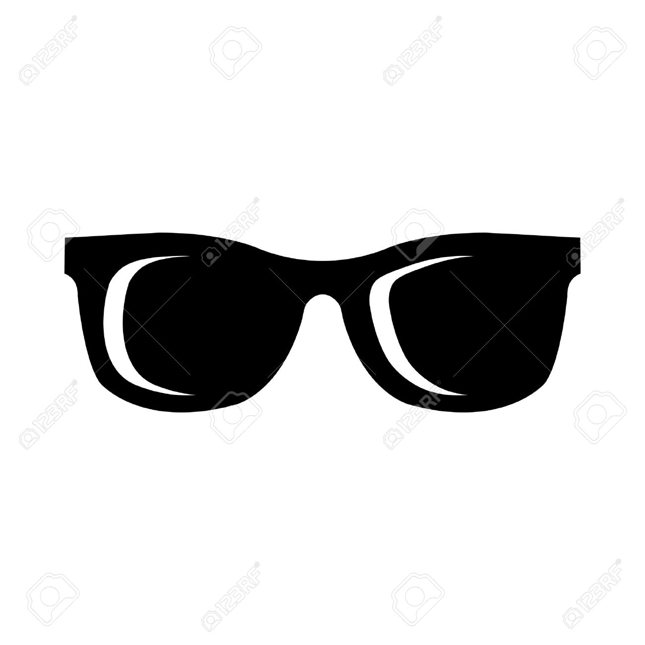 sunglasses vector icon royalty free cliparts vectors and stock rh 123rf com sun with sunglasses free vector sunglasses free vector download