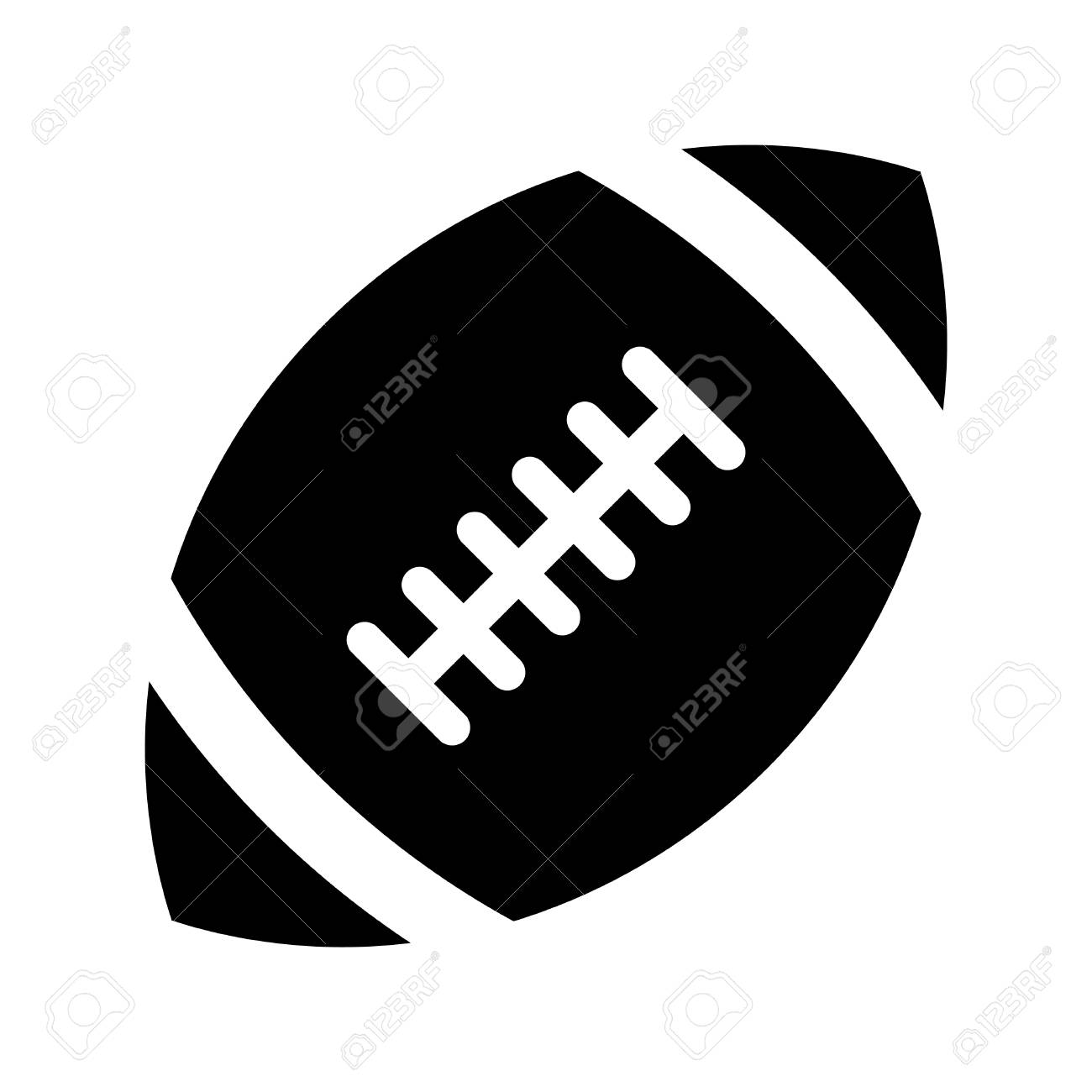 football vector icon royalty free cliparts vectors and stock rh 123rf com american football vector art american football vector images