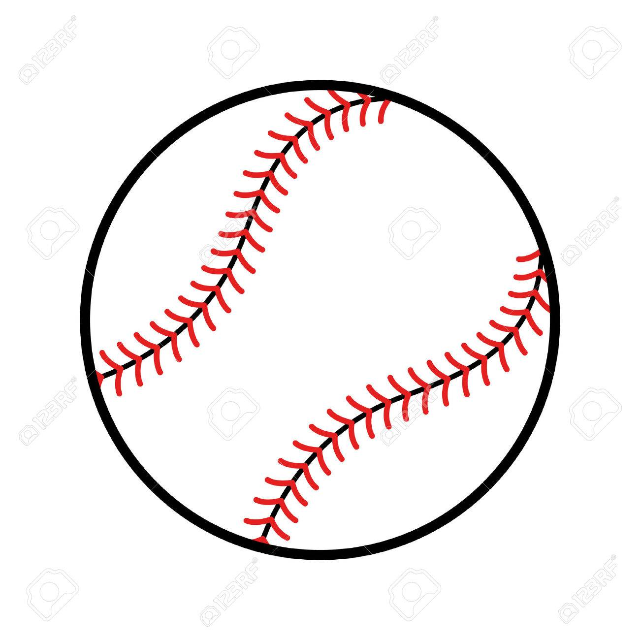 baseball vector icon royalty free cliparts vectors and stock rh 123rf com baseball vector free baseball vector free download