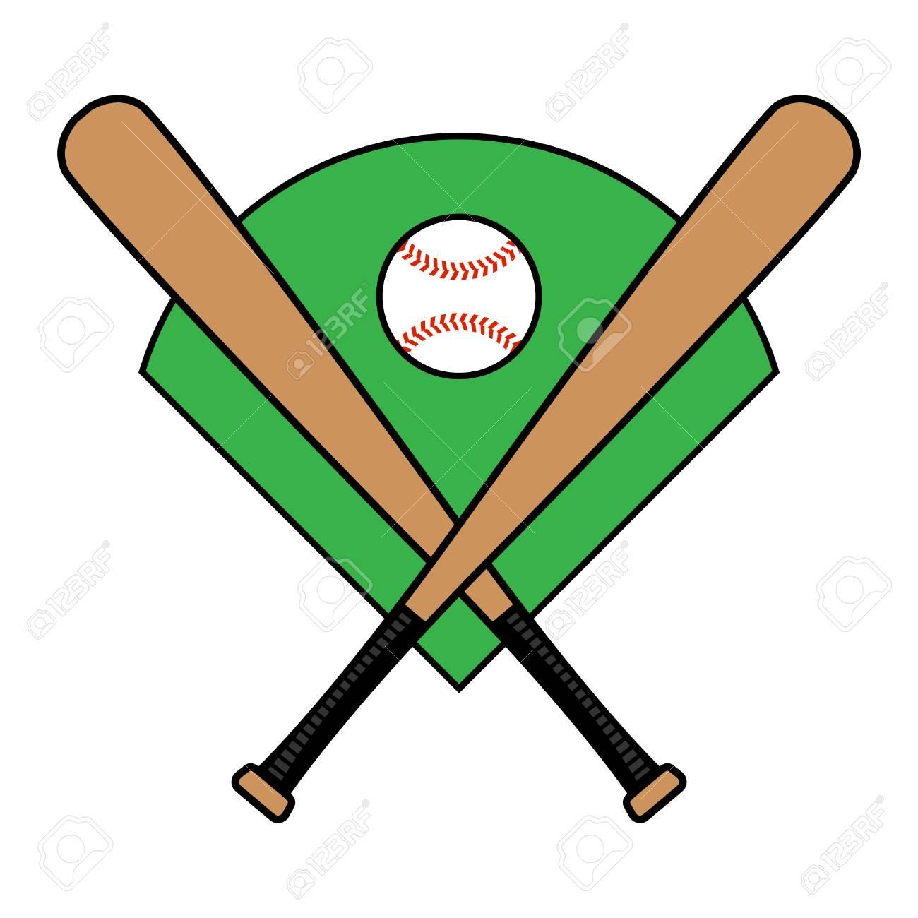 baseball bat vector icon royalty free cliparts vectors and stock rh 123rf com vector baseball bat free reebok vector o baseball bat