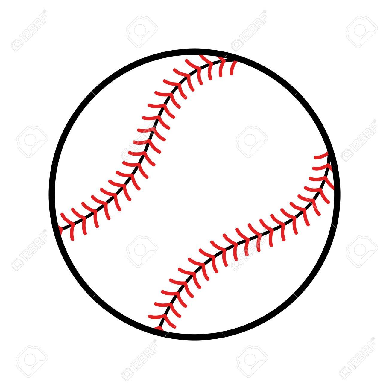 baseball vector icon royalty free cliparts vectors and stock rh 123rf com baseball vector art baseball vector art