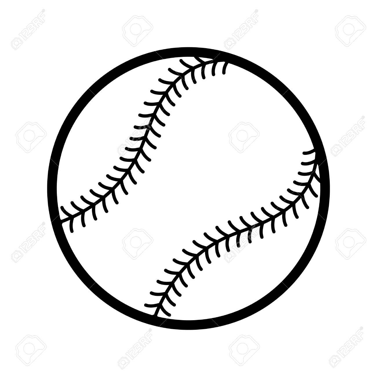 baseball vector icon royalty free cliparts vectors and stock rh 123rf com baseball vector art free basketball vectors