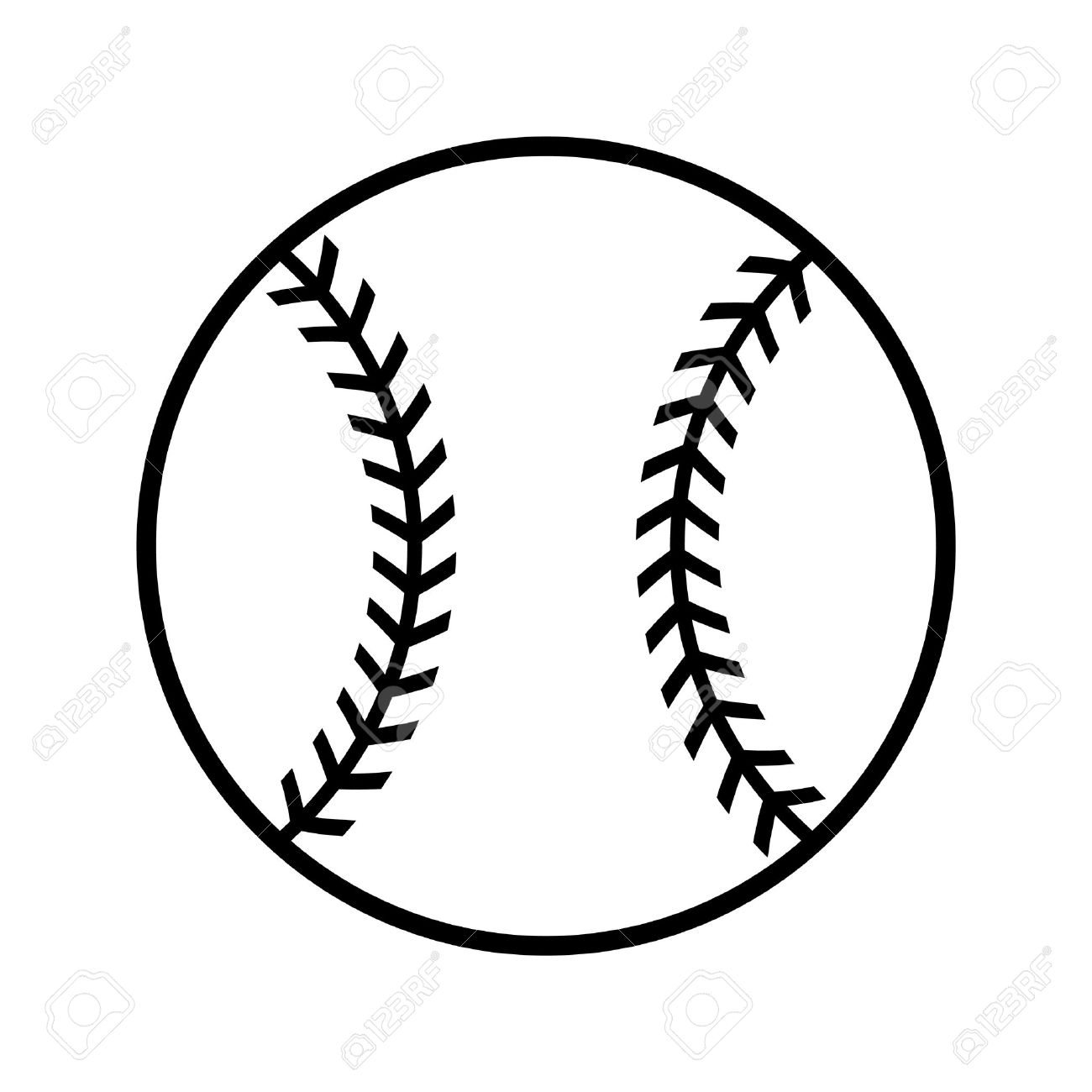 Baseball Vector Icon Royalty Free Cliparts, Vectors, And Stock ...
