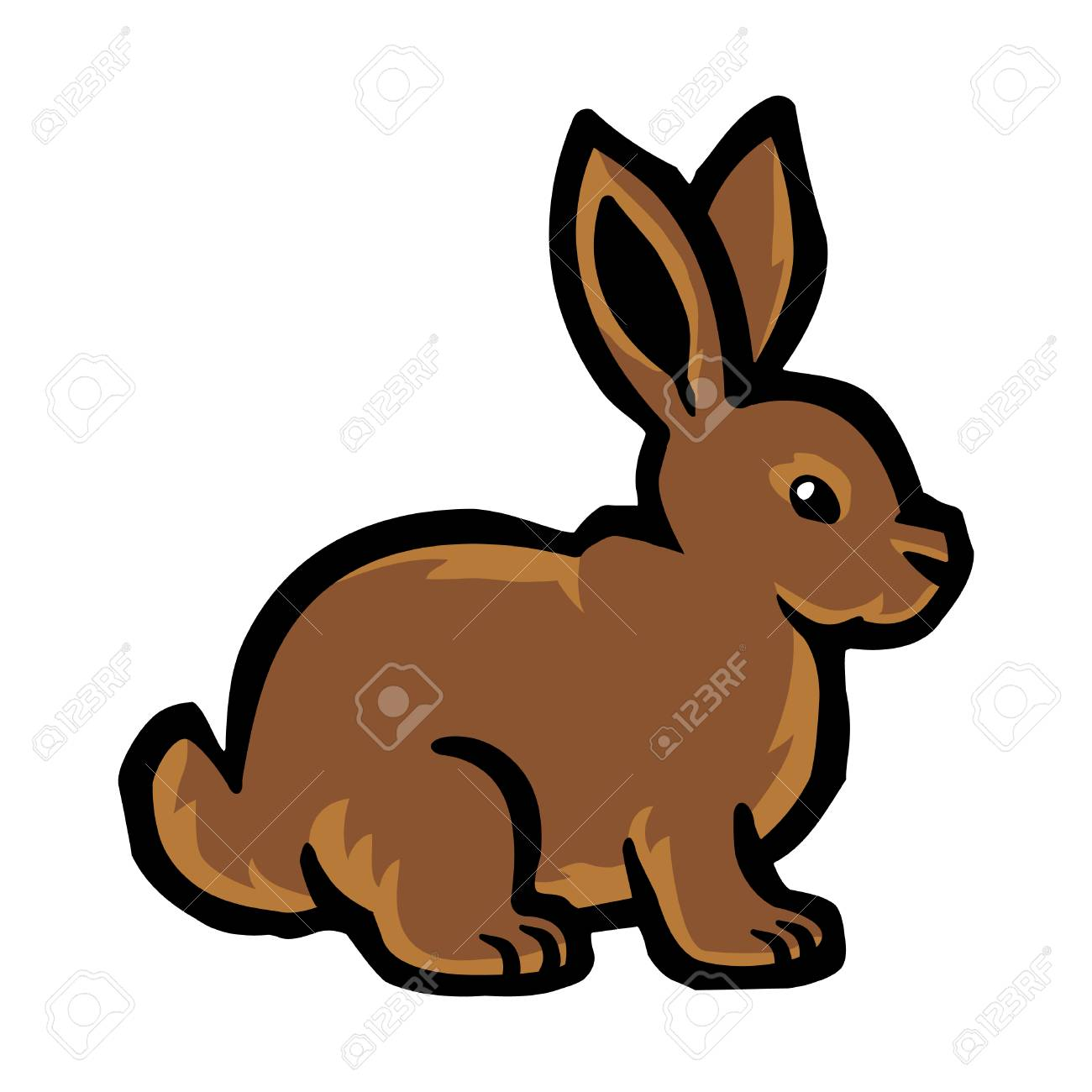 cartoon bunny rabbit vector royalty free cliparts vectors and rh 123rf com rabbit vector free download rabbit vector ai free download