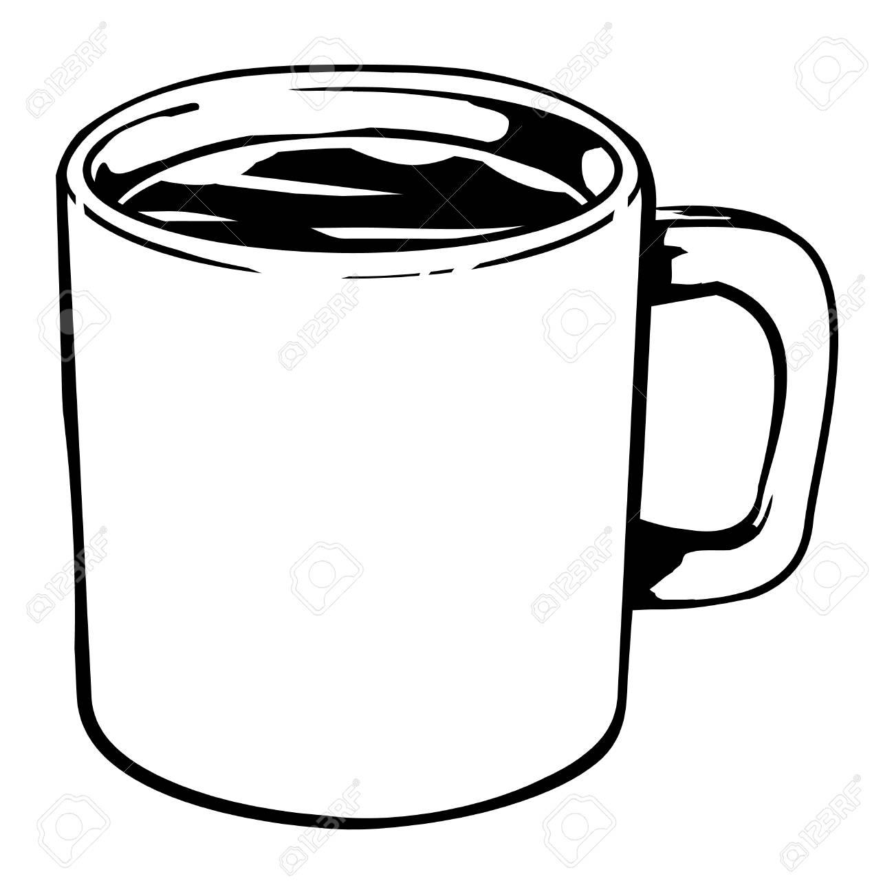 Coffee Mug Vector Icon Royalty Free Cliparts Vectors And Stock Illustration Image 49536819