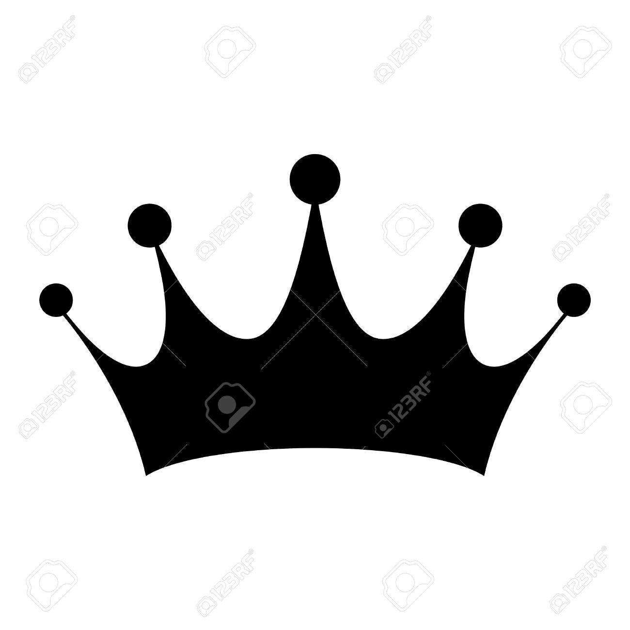 Crown Vector Icon Stock Vector
