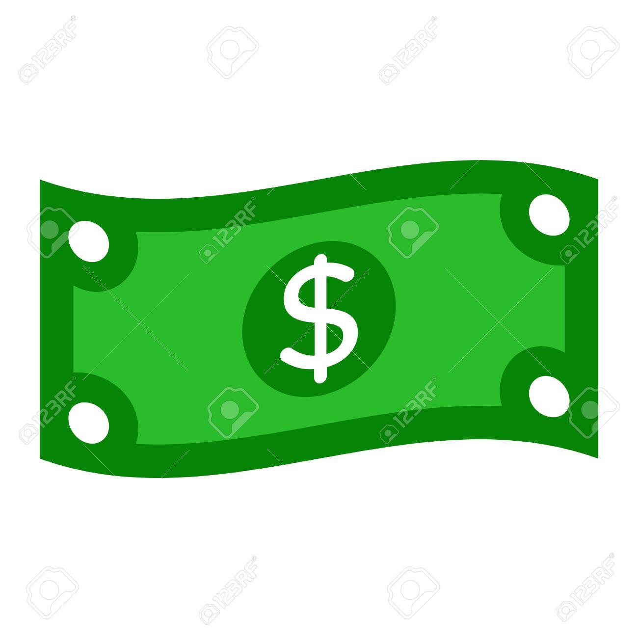 dollar bill vector illustration royalty free cliparts vectors and rh 123rf com dollar bill vector art dollar bill vector art free