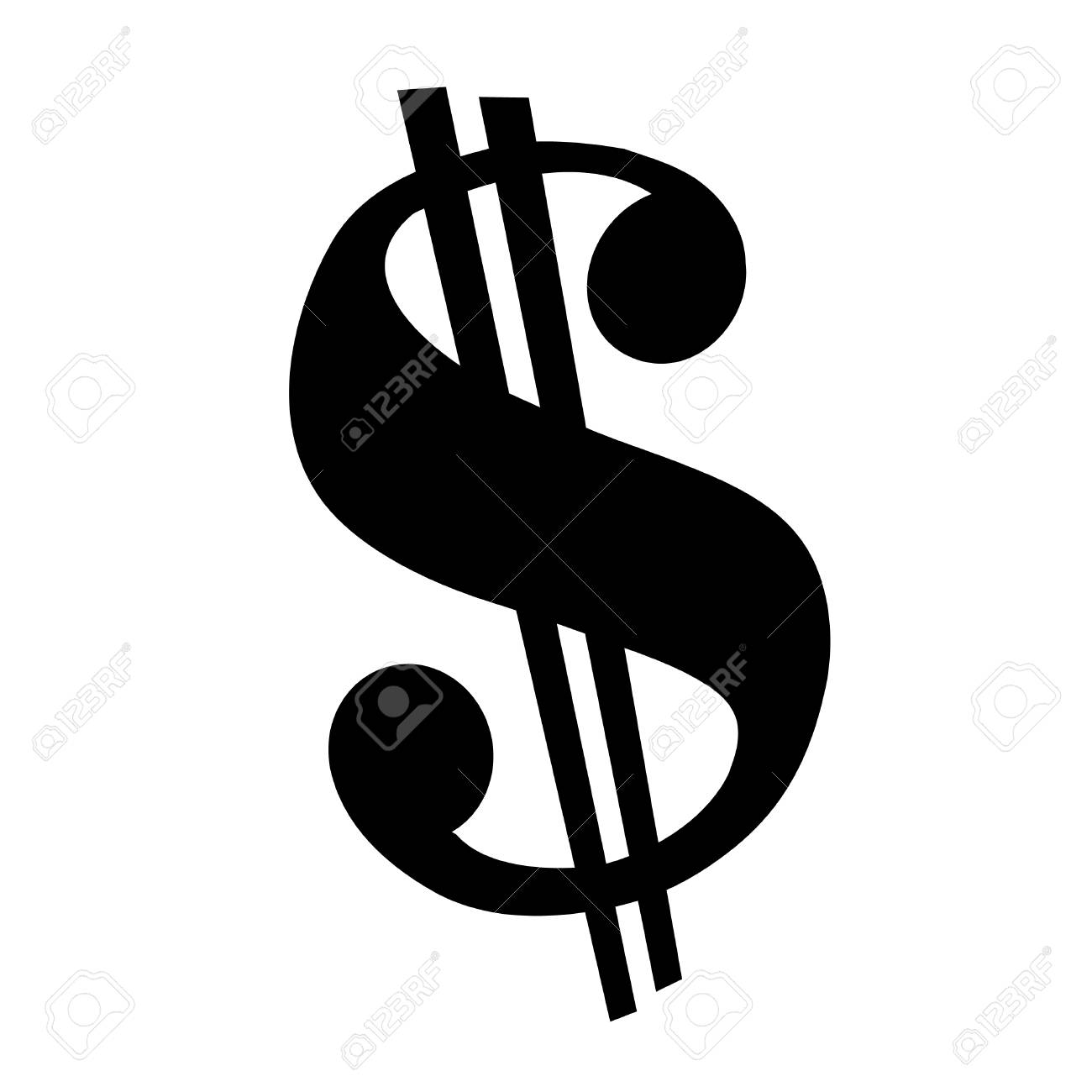 dollar sign vector icon royalty free cliparts vectors and stock rh 123rf com dollar sign vector free download dollar sign vector icon