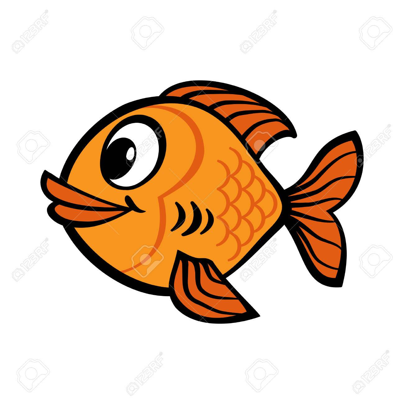fish cartoon vector icon royalty free cliparts vectors and stock