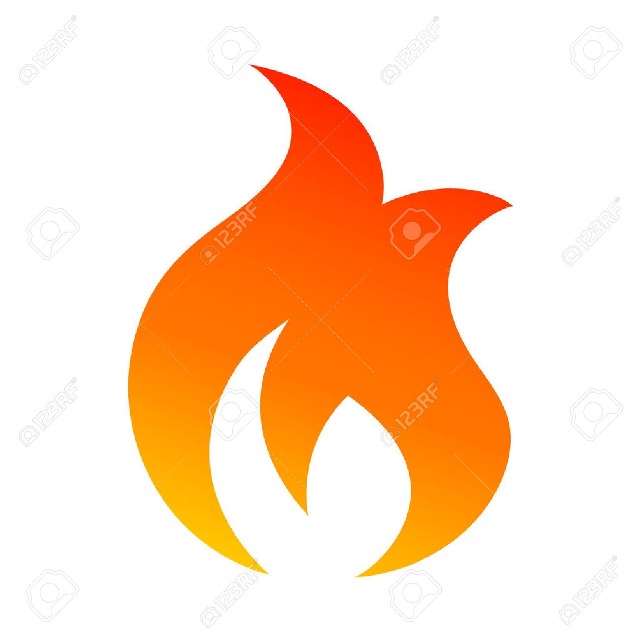 flame vector icon royalty free cliparts vectors and stock rh 123rf com vector flame tribal flamingo vector