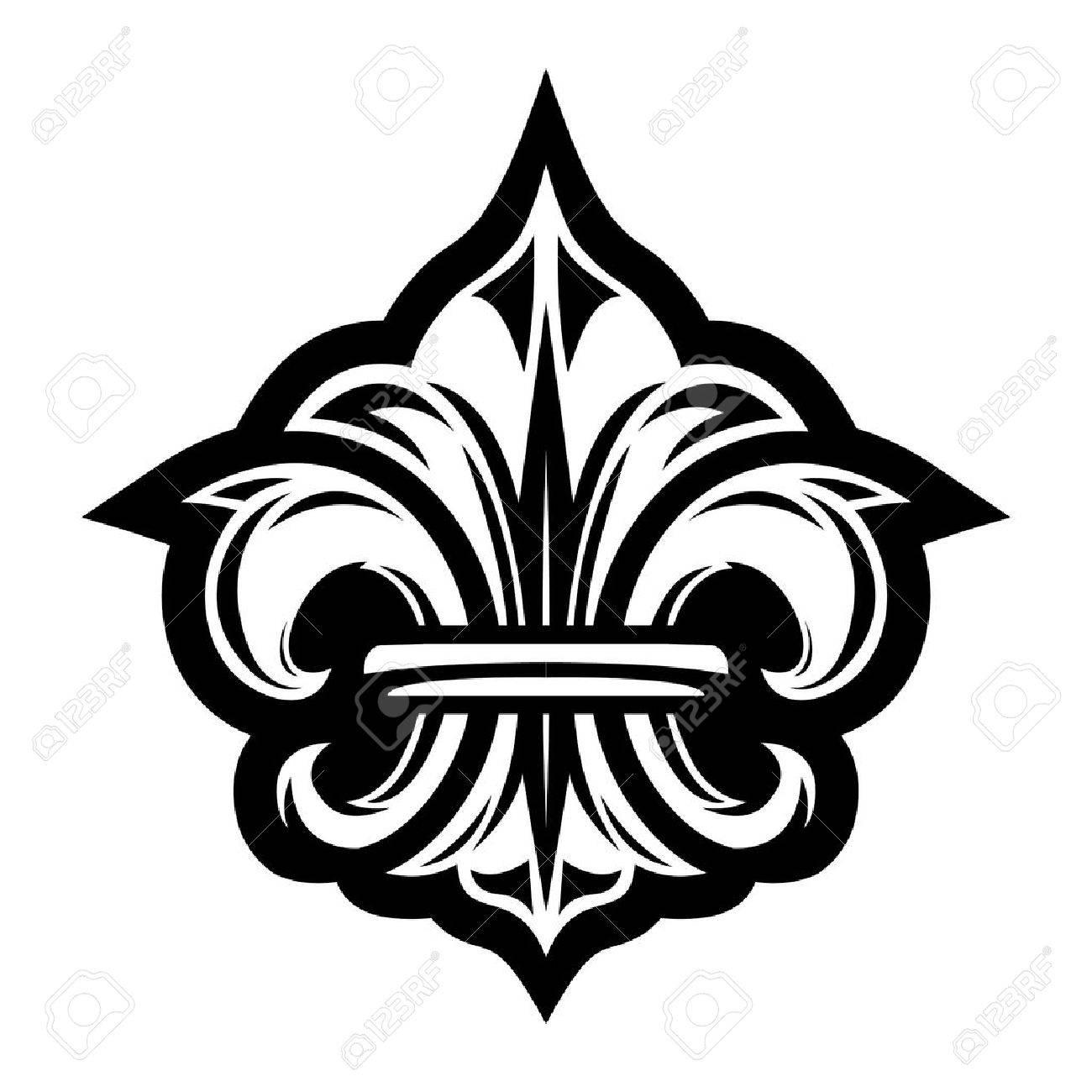 Fleur De Lis Symbol Royalty Free Cliparts Vectors And Stock