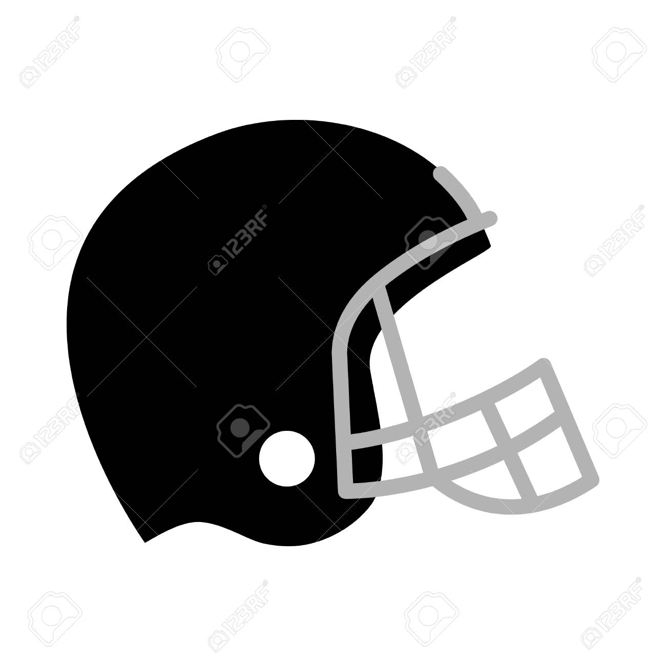 football helmet vector icon royalty free cliparts vectors and rh 123rf com