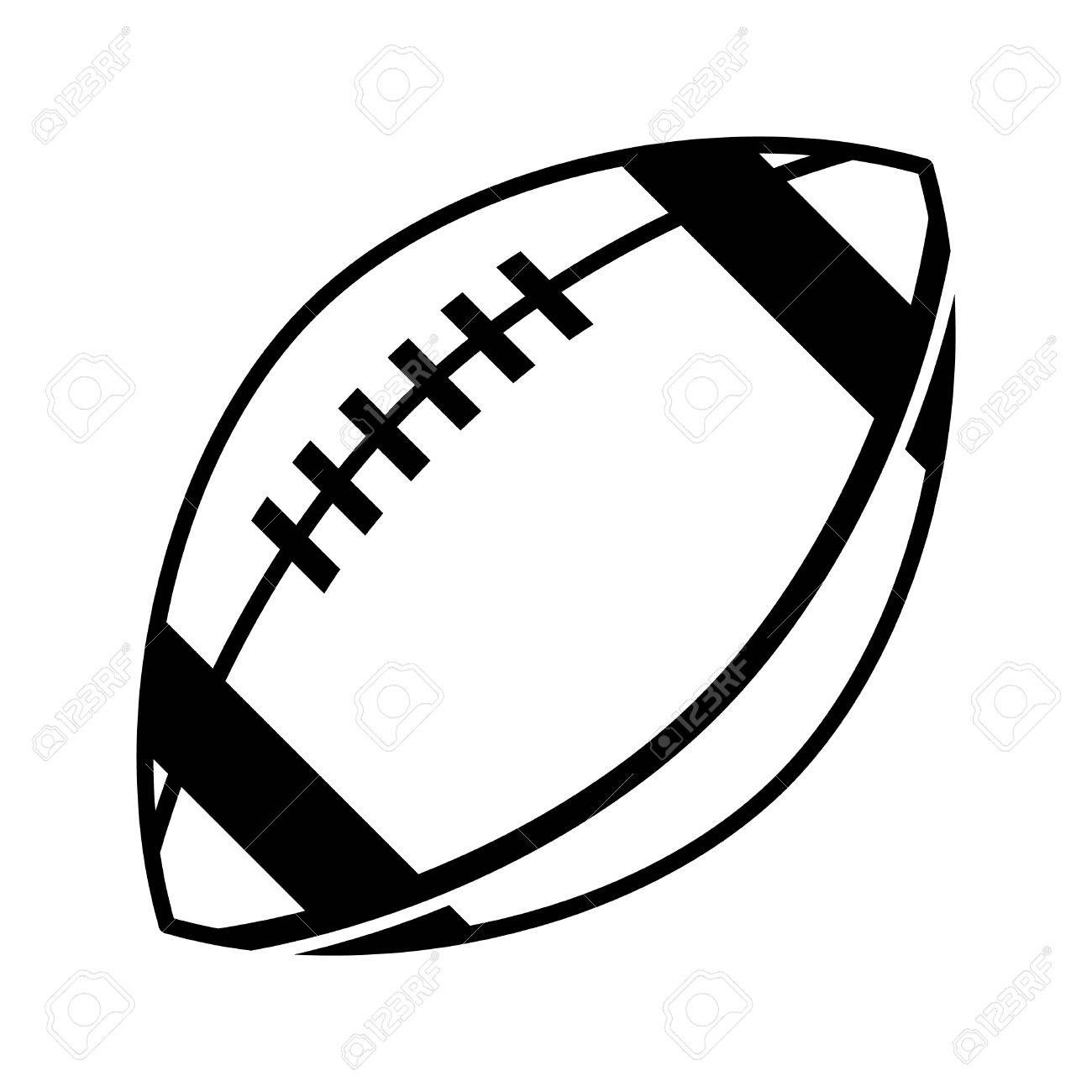 football vector icon royalty free cliparts vectors and stock