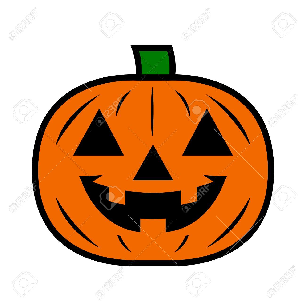 jack o lantern pumpkin vector icon royalty free cliparts vectors rh 123rf com halloween jack o lantern clipart pumpkin jack o lantern clipart