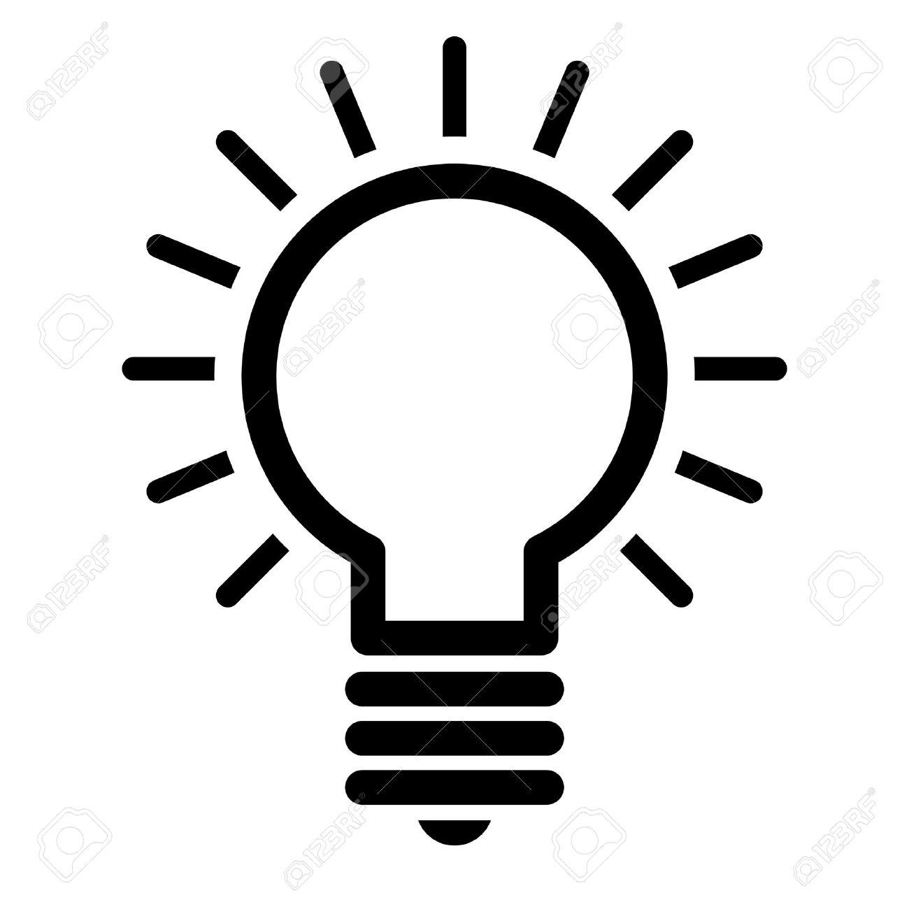 Glühbirne Vector Icon Lizenzfrei Nutzbare Vektorgrafiken, Clip Arts ...