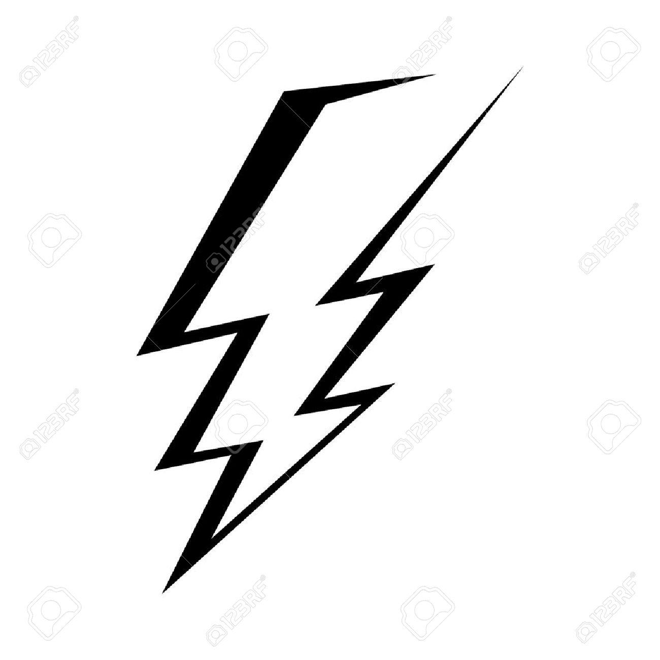 lightning bolt vector icon royalty free cliparts vectors and stock rh 123rf com lightning bolt vector image lightning bolt vector art