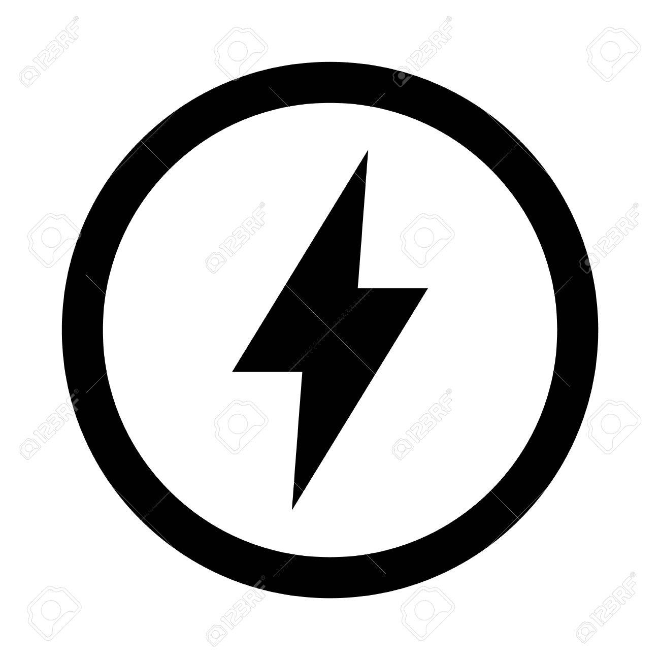 lightning bolt vector icon royalty free cliparts vectors and stock rh 123rf com lightning bolt clipart vector vector art lightning bolt