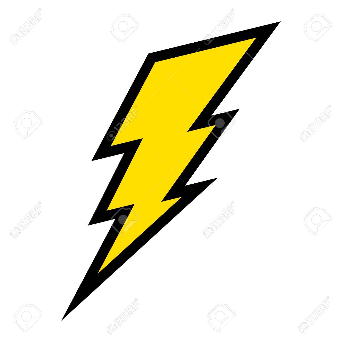 lightning bolt vector icon royalty free cliparts vectors and stock rh 123rf com vector lightning bolt free vector image of lightning bolt