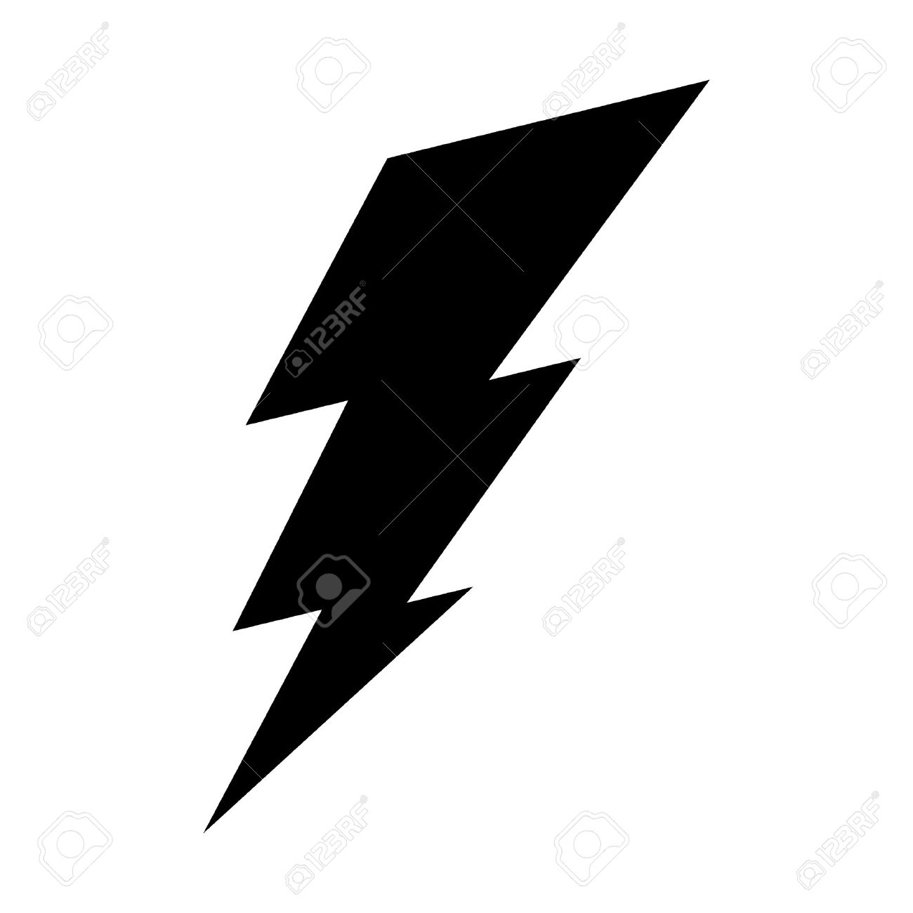 lightning bolt vector icon royalty free cliparts vectors and stock rh 123rf com vector image lightning bolts lightning bolt vector illustrator free