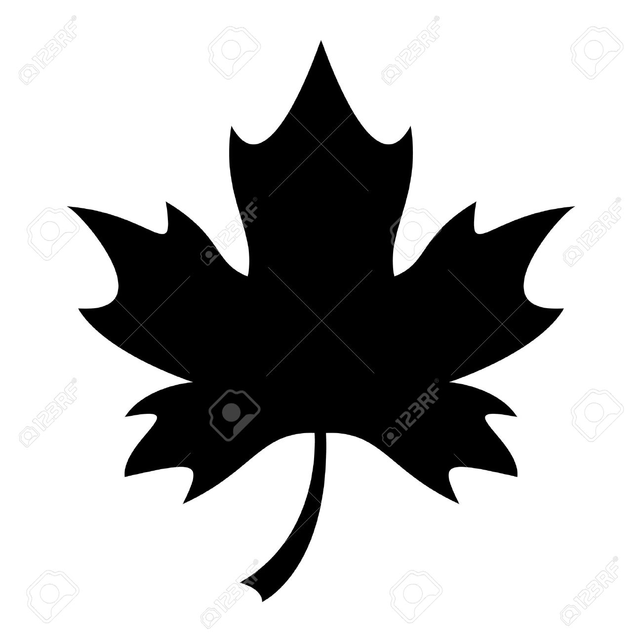 maple leaf vector icon royalty free cliparts vectors and stock rh 123rf com maple leaf vector art maple leaf vector icon