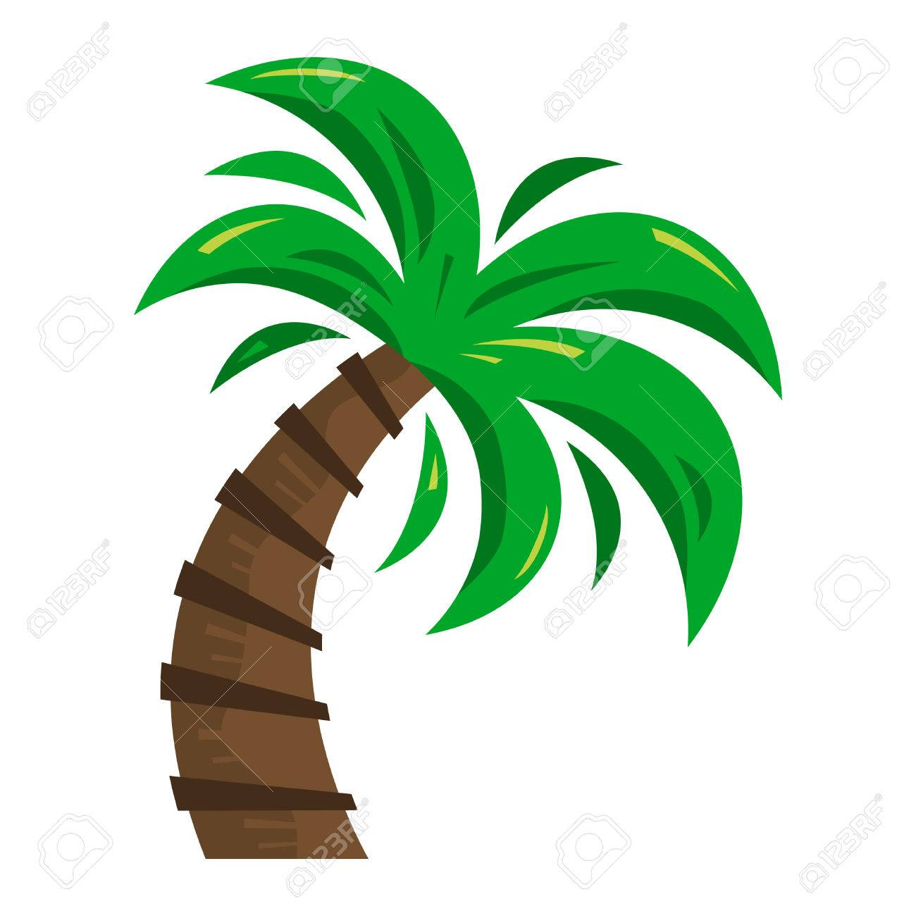 palm tree vector icon royalty free cliparts vectors and stock rh 123rf com free vector palm tree silhouette free vector palm tree artwork