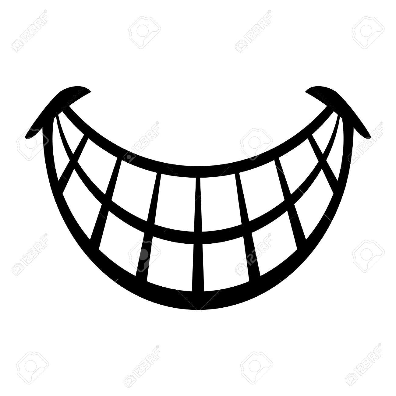 big cartoon smile vector royalty free cliparts vectors and stock rh 123rf com smile vector freepik smile vector png