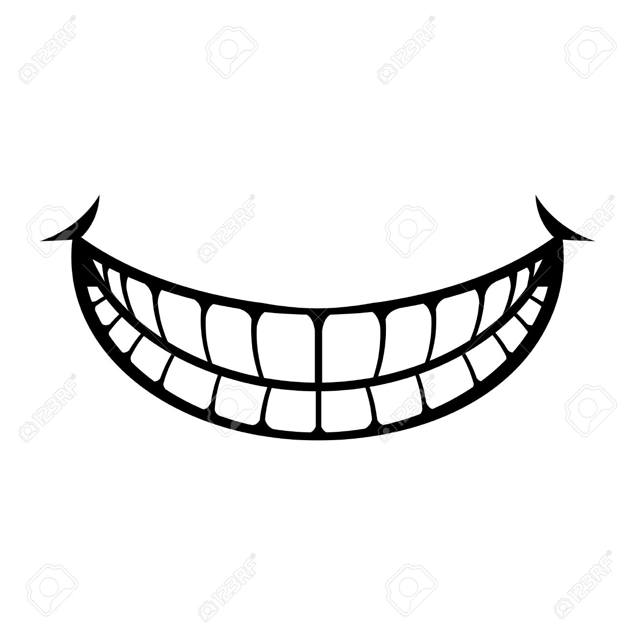 big cartoon smile vector royalty free cliparts vectors and stock rh 123rf com smile vector png smiley free vector